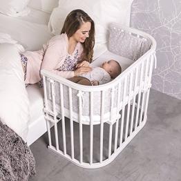 babybay Maxi weiss Beistellbett