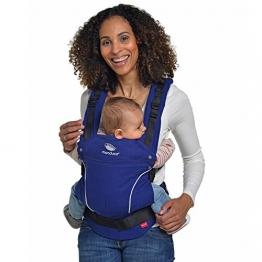 manduca Baby- und Kindertrage - Bauchposition