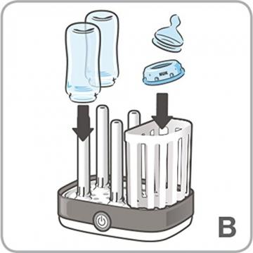 NUK Express Dampf-Sterilisator - innen II